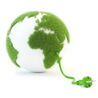 Clean energy concept illustration